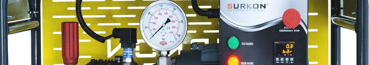 Hidro-Statik Su Test Pompaları <br> El basmalı - Elektrikli - Benzinli