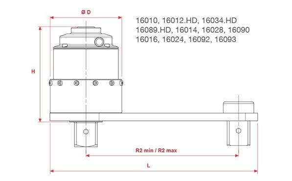 Norbar Ağır İş Yassı Mekanik Tork Artırıcılar [ 950 - 47500 Nm ]