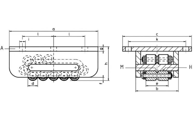 Ağır Yük Taşıma Arabası Çift Makara - AM-H Serisi [ 12 - 165 ton ]
