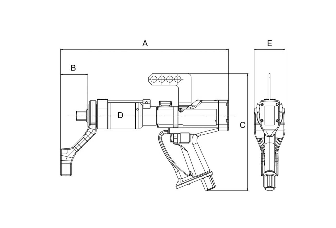 Norbar Dijital Havalı Tork Anahtarları [100-2000 Nm]