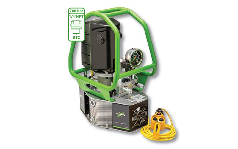 Elektrikli Hidrolik Tork Pompası Tam Otomatik, Debi 9.4 ltr/dk [ SPX PE-45 ]
