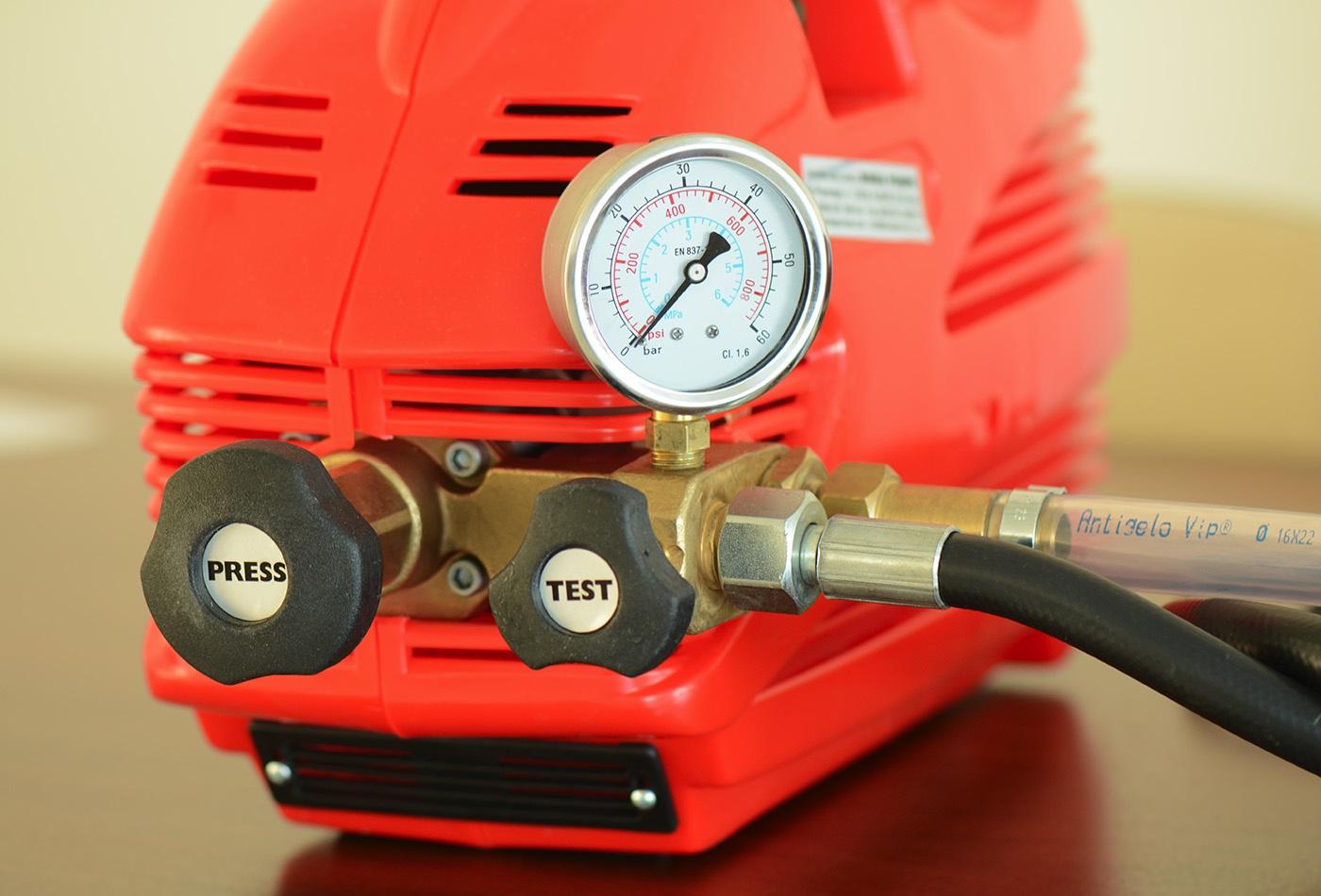 Binda Elektrikli Su Test Pompası [50 bar]