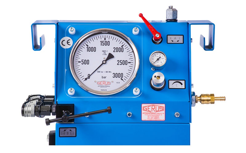 Gerus Press HP-26 Hidropnomatik Test Pompası [ 2.500 bar ]