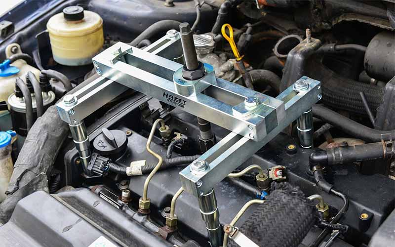 Hidrolik Enjektör Çektirme Hazet-4798-5/25 - Universal [ Hidrolik Piston - 20 ton ]