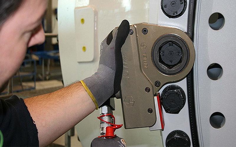 Hidrolik Tork Anahtarı Kasetli, İnce Tip ±%2.5 [ 300 – 15.000 N.m ]