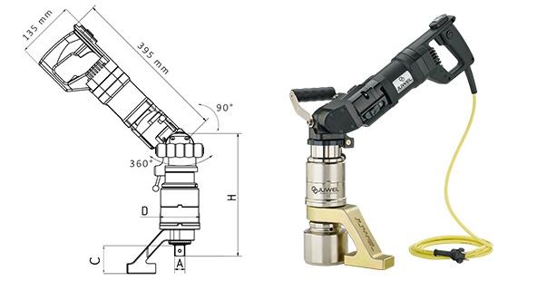 Juwel Elektrikli Tork Anahtarı Çok Fonksiyonlu Seri ±%3.5 [ 150 – 5.000 N.m ]