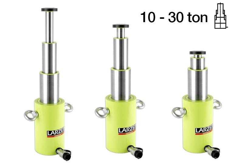 Larzep SL Serisi Hidrolik Teleskopik Silindirler [15 – 31 Ton]