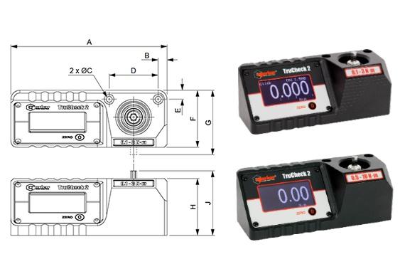 TruCheck 2 Standart Seri Tork Test Cihazı Hafif İş [0.1 – 30 N.m]
