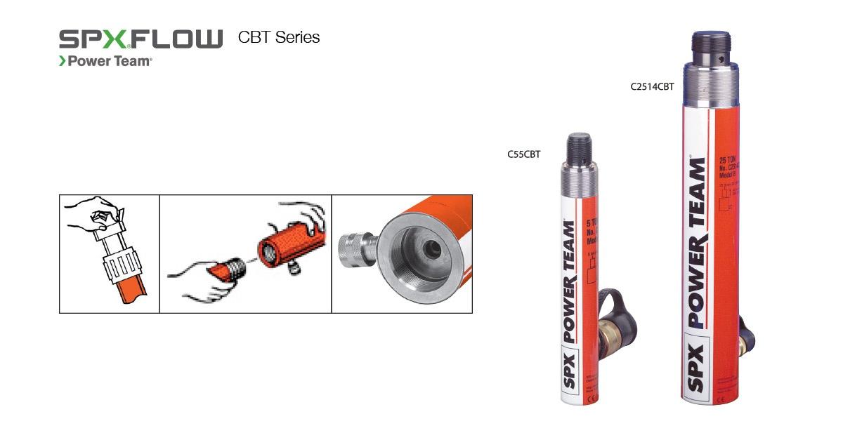 SPX Uzatmalı Yay Dönüşlü Hidrolik Krikolar [5 – 25 Ton]