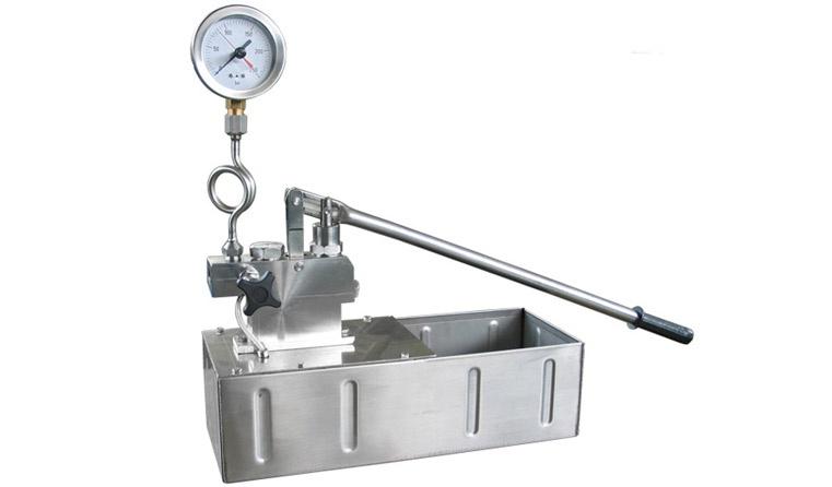 Binda Paslanmaz Çelik Su Test Pompası [200 bar]