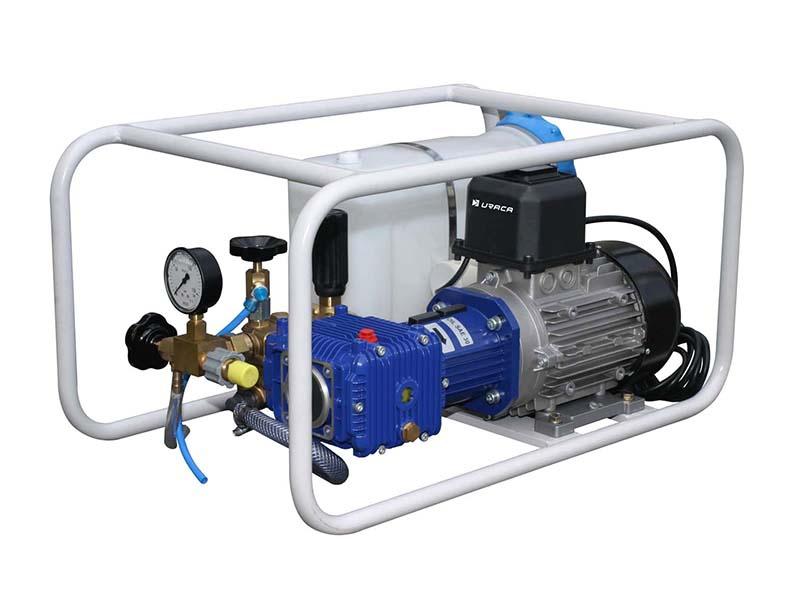 Uraca Elektrikli Su Test Pompası [100 bar]