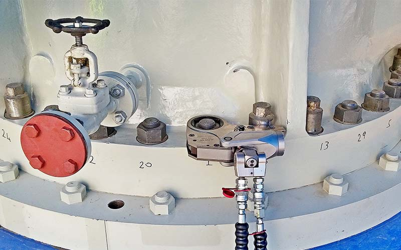 Kasetli Hidrolik Tork Anahtarı Torc-Tech - LOW Serisi [ 230 – 44.500 N.m ]