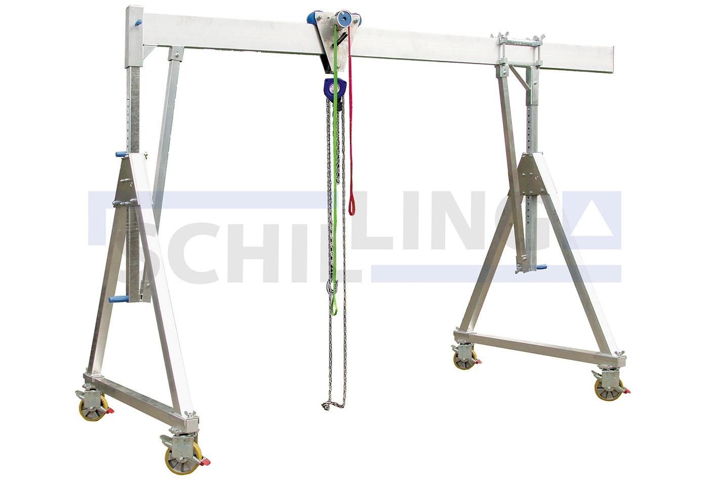 Schilling Tek Kiriş Tekerli Köprü Vinçler [1-1.5 ton]