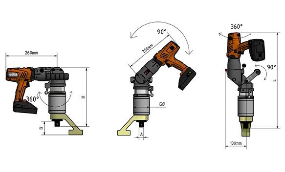 Juwel Çok Fonksiyonlu Akülü Tork Anahtarları [ 50 – 5.000 N.m ]