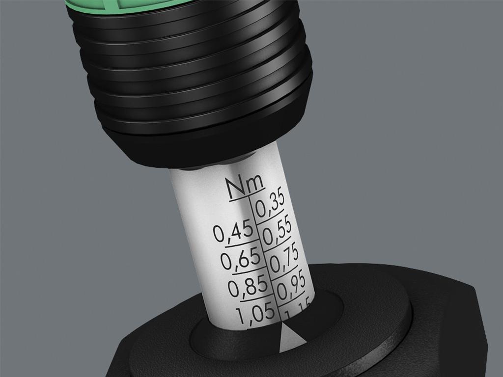 Wera Torklu Tornavidalar Hassasiyet ±%6 [0.1-3.0 Nm]