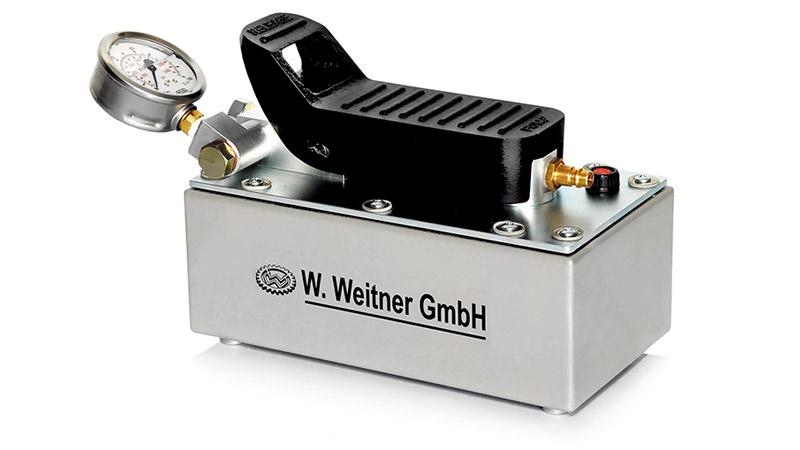 Weitner Havalı Hidrolik Pompa- Tek Etkili [700 Bar]