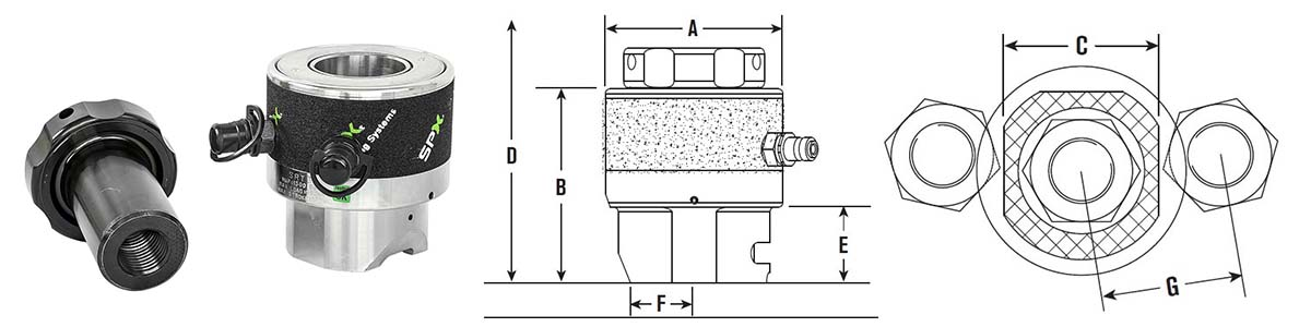 srt2-hydraulic-tensioner-size-drawing