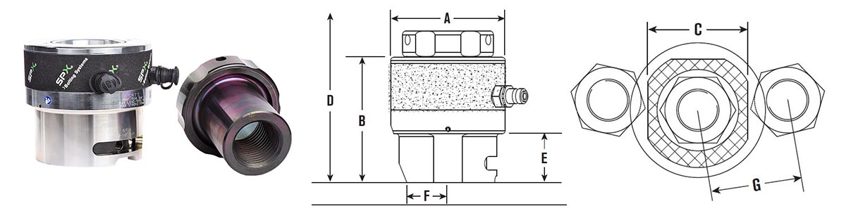 srt5-hydraulic-tensioner-size-drawing