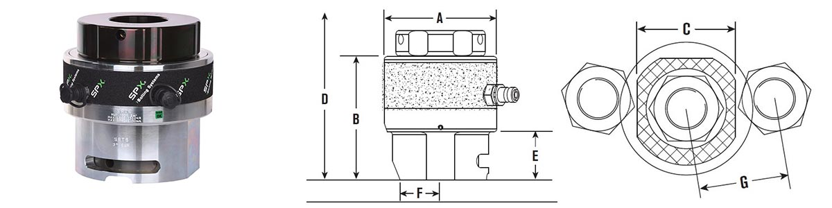 srt6-hydraulic-tensioner-size-drawing